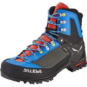 SALEWA Raven 2 GTX Chaussures Homme, mayan blue/papvero